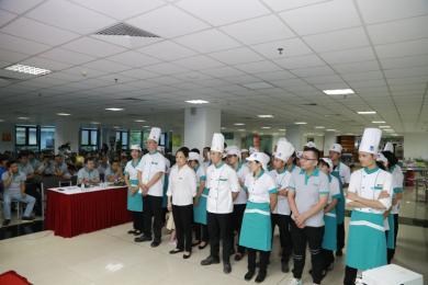 Hướng tới kỷ niệm 10 năm ngày thành lập PSA (01/11/2007- 1/11/2017): Hội thi bếp ăn tập thể năm 2017